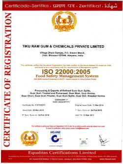 Tiku Ram Gum & Chemicals Pvt  Ltd